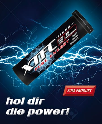 XTFC Pure Energy - Energy-Drink - 12 Brausetabletten