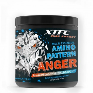XTFC Pure Energy - ANGER Pre-Workout-Drink - 350 g